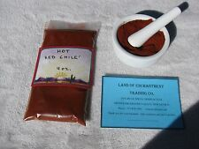 NEW MEXICO *HOT* RED CHILE POWDER  4 ounces  Fresh!!  *Free Shipping for USA*