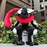 "Soft Black Shiny Greninja 10"" Plush Toy Stuffed Animal Cartoon Doll"