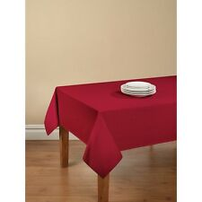 "Mainstays Red Sedona Tablecloth 60"" x 84"" Rectangle Easy Care Machine Washable"