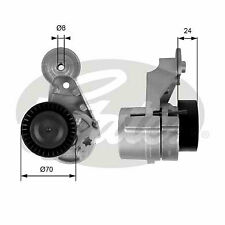 VOLVO XC90 Mk1 2.4D Aux Belt Tensioner 02 to 14 Drive V-Ribbed Gates 30637070