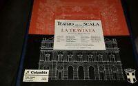 LA TRAVIATA - TEATRO LA SCALA - 2 LP VINILE IN BOX COLUMBIA