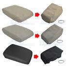 Fits 2008-2013 Toyota Highlander Leather Center Console Lid Armrest Cover Skin