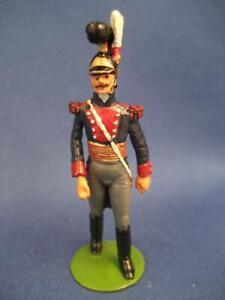 St. Petersburg Napoleonic Russian Dragoon Regiment Officer, 54mm, Virtually Mint