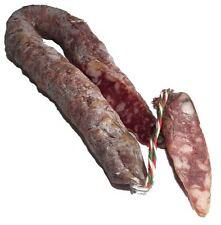 Salciccia Curva 270 g milde bianca dolce Italienische Salami Hufeisenform Salame