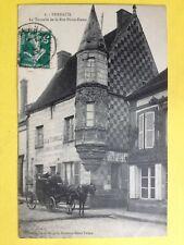 VERNEUIL sur AVRE (Eure) La TOURETTE de la RUE NOTRE DAME Café LEMOINE Attelage