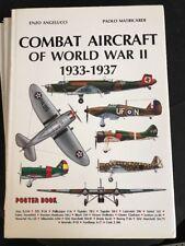 COMBAT AIRCRAFT OF WORLD WAR II 1933-1937 Poster Book Aviation
