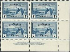 Canada  # C9  VFNH   AIR MAIL CANADIAN GEESE   Brand New 1946 Pristine Issue