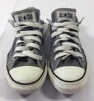 CONVERSE Chuck Taylor All Star Gray Sz M 5 W7 Sneakers Grunge Skate Shoes 1J794