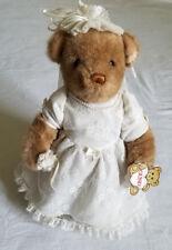 "GUND Bride Bear Plush Wedding ""Just BeGund"" #2250 Collectors Classic Edition"