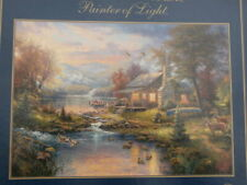'Nature's Paradise' by Thomas Kinkade Painter of Light 1000p Puzzle from Gibsons