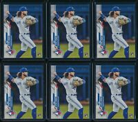 2020 Topps Series 1 #78 Bo Bichette 6 Card RC Lot Rookie Toronto Blue Jays