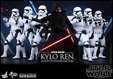 "Hot Toys KYLO REN 2016 STAR WARS Force Awakens Masterpiece Series 1/6 14"" MMS320"