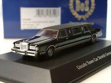 BOS Lincoln Town Car Stretch-Limousine, schwarz, 8,5 cm - 87235 - 1:87
