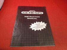 Sega Genesis Model 1 System Console Instruction Manual Booklet ONLY