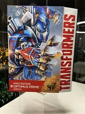 TRANSFORMERS AOE AGE OF EXTINCTION OPTIMUS PRIME FIRST EDITION LEADER CLASS NEW