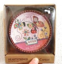 Sister Mini Plate with Stand By Carson Heartstring Collection Gift Giving  BB