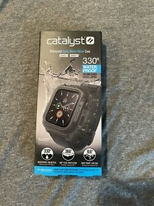Catalyst - Protective Waterproof Case for Apple Watch44mm - Stealth Black