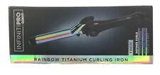"""Conair Infiniti Pro 1"""" Rainbow Titanium Curling Iron"""