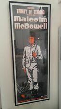 Malcolm McDowell Signed Print Poster A Clockwork Orange Fangoria Stanley Kubrick