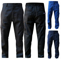 """Cargo Trousers Pants Work Wear Combat Cargo Waist 28"""" to 62"""" With 5 Leg Lengths"""