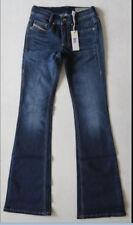 Diesel Women Jeans Stretch Slim Bootcut Low Waist 819l 23 W X 30 With Tags