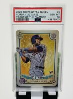 2020 Topps Gypsy Queen Tarot Of The Diamond #5 Yordan Alvarez RC PSA 10 POP 27