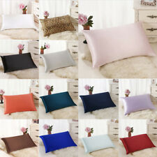 New Rectangle Cushion Cover Silk Throw Pillow Case Pillowcase Sofa Home Decor