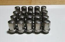 OEM Chevy Silverado GMC 1500 2500 3500 Factory Wheel Nut Stainless Lugs Lug Nuts