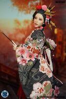 SUPER DUCK 1/6 SET052 Japanese Beauty Costume Clothes w Head Fit PH Body Presale