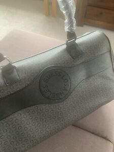 Brand new and genuine guess duffle travel bag Gym Grey