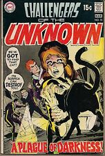 CHALLENGERS OF THE UNKNOWN #72 DC 03/70 A PLAGUE OF DARKNESS NEAL ADAMS CVR FINE