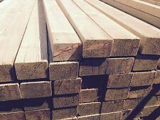 "4.8m Premium C24 Tanalised Decking Joists 3x2"" 70x45mm - £6.95"