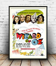 Wizard of Oz - Vintage Film Poster, Reproduction