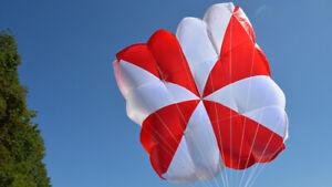 Supair Fluid Reserve Parachute For Paragliding & PPG Size:Large Best Offer!
