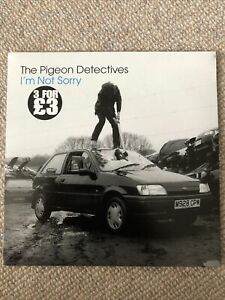 """THE PIGEON DETECTIVES - I'M NOT SORRY 7"""" RECORD"""
