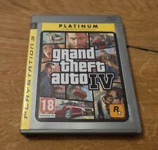 GTA 4, Playstation 3, PS3 FSK 18, mit Map, Spanische Cover, aber wie dt. Version