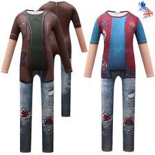 2020 Zombies 2 Costumes Boy Zed Jumpsuit Halloween Cosplay Fancy Dress Bodysuit