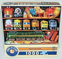 Lionel Train Edition Well Stocked Shelves Jigsaw Puzzle 1000 Pc NEW Toy Engines