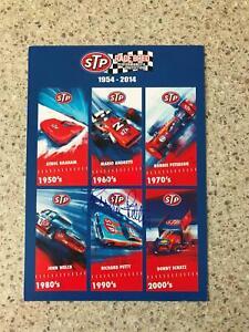 "Signed Richard Petty STP Promotional card 6""x8"" NASCAR Legend rare"
