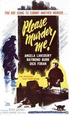 PLEASE MURDER ME 1956 CRIME DRAMA FILM NOIR  ON DVD