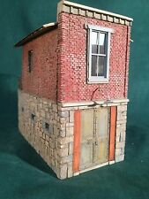 O/On3/On30 Scale HANGTOWN JAIL by Rich White Models-Hydrocal Walls/Steps Only