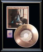CAROLE KING I FEEL THE EARTH MOVE 45 RPM GOLD METALIZED RECORD VINYL RARE