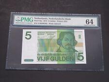NETHERLANDS- 1973- 5 GULDEN -NEDERLANDSCHE BANK-PMG 64 UNC