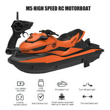Rc Motorboat Boat High Speed Remote Control 2.4Ghz Xmas Gifts Toy For Kids Usa