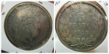 Francia France Louis Philippe I 5 Francs Franchi 1833 W Lille bb/vf