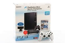 Sony PlayStation 3 PS3 Slim Move 320GB Console System MINT + 2nd Controller