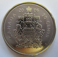 2006P CANADA 50 CENTS SPECIMEN HALF DOLLAR COIN