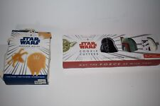 Williams Sonoma Star Wars Pancake Molds & Cookie Cutter Set New