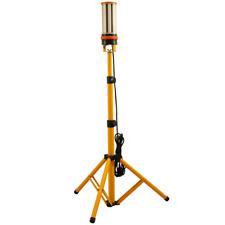 Choen 60W 110V 240V Led Tripod Work Light Site Light,6500 Lumen,360° Lighting