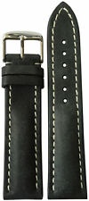 22x20 RIOS1931 for Panatime Stone Vintage Watch Strap w/Buckle for Breitling